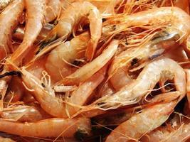 Pile of shrimp