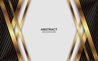 Presentation luxury Gold Background vector