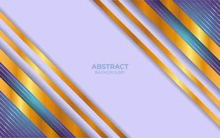 Abstract Blue And Gold Background Design vector