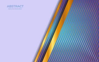 Background Abstract Blue And Gold Design vector