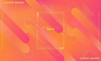 Minimalist modern abstract background with geometric shapes and lines vector