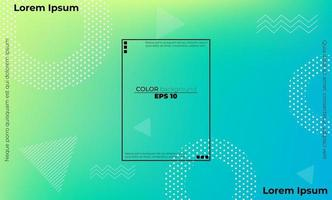 Modern abstract background with geometric shapes and lines, Applicable for gift card,  Poster on wall poster template,  landing page, ui, ux ,coverbook,  baner, social media posted, vector