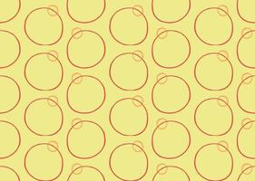 Vector texture background, seamless pattern. Hand drawn, yellow, orange, red colors.