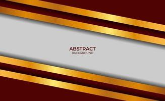 Design Background Red And Gold vector