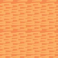 Vector seamless texture background pattern. Hand drawn, orange colors.