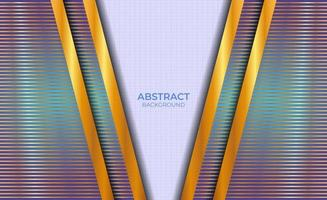 Background Design Abstract Blue And Gold vector