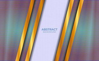 Design Background Abstract Blue And Gold vector