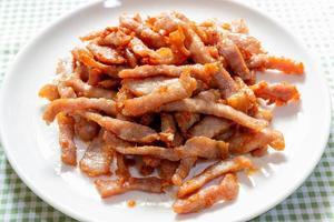 Homemade Thai pork dish
