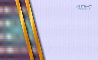 Background Design Abstract Style Blue And Gold vector