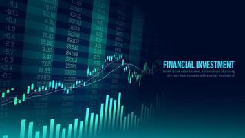 Concept art of financial growth vector