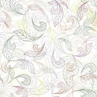 Floral seamless pattern. Flower background. Flourish garden wallpaper with flowers. vector