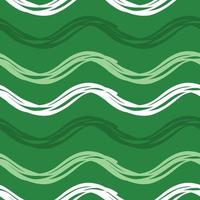 Vector seamless texture background pattern. Hand drawn, green, white colors.