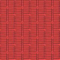 Vector seamless texture background pattern. Hand drawn, red, black colors.