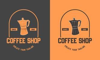 Coffee pot icon design vector