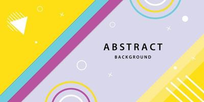 Abstract background vector banner