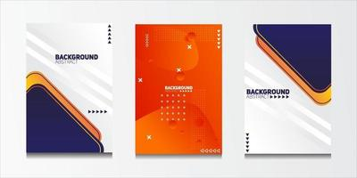 Abstract geometric pattern background with line texture for business brochure cover design. vector