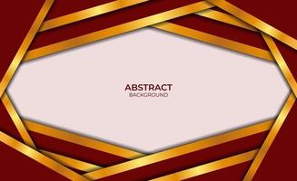 Luxury Abstract Background Red And Gold Style vector