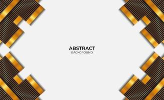 Design Style Black And Gold Background vector