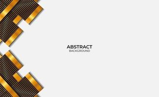 Design Style Black And Gold Abstract vector