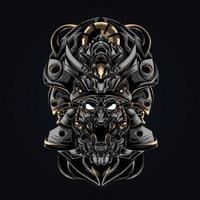 angry satan artwork illustration vector