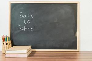 Back to school and education concept to learn to improve skills photo
