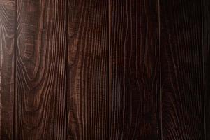 patrón de piso de madera marrón oscuro foto