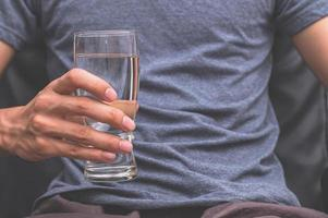 Drink clean water for health