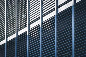 Venetian louvers of a residential building photo