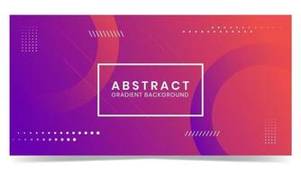 abstract gradient shapes background design vector