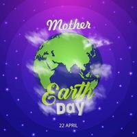 Mother Earth Day vector