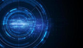 Diseño de concepto de carga de movimiento de velocidad de túnel de ciencia ficción digital abstracto