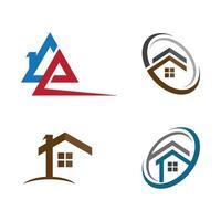 House logo images set vector