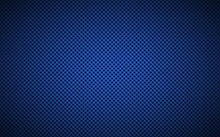Perforated blue metallic background. Abstract stainless steel technology background vector illustration