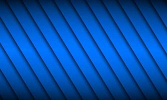 Fondo de diseño de material azul con sombras diagonales. Ilustración de vector de pantalla panorámica abstracta moderna