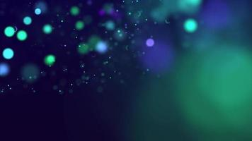 Defocused Colorful Glowing Bokeh Background