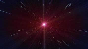 Hyperspace Starburst Background Clip 4k animation of an abstract stars background, with speed traveling into hyperspace
