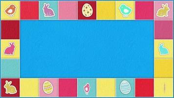Easter Games Frame video