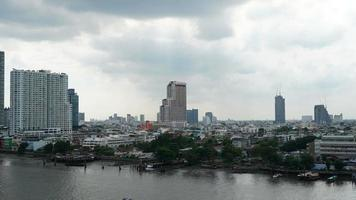Time lapse - Bangkok city in Thailand video