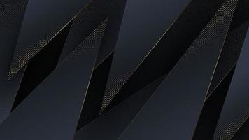 Abstract background with luxury gold trim. vector