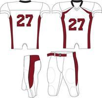 jersey de compresión bronco adulto vector