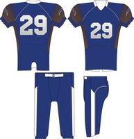 Compression Jersey and Pant vector