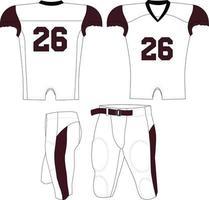 camiseta de compresión del equipo adulto vector