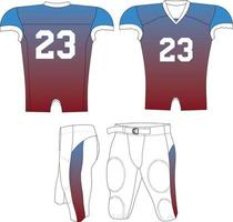Adult Fade Compression Jersey vector