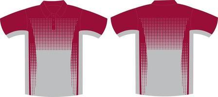 camisetas de media manga de diseño personalizado vector