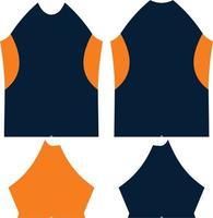 ilustraciones de patrón de camiseta seca vector