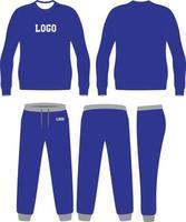 Sweat Shirt and pants vector