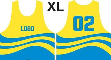 diseño de camiseta de lacrosse ajusta en patrones vector