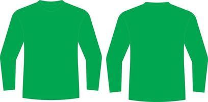 Custom Design Long Sleeve t shirt vector