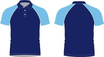 Polo Shirt Mock ups vector