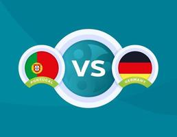 Portugal vs Germany football